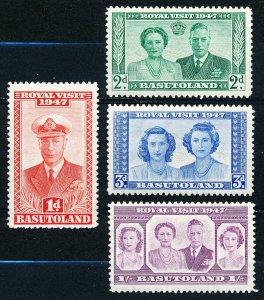 Basutoland #35-38  Set of 4 MLH
