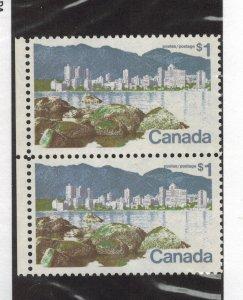CANADA SCOTT 600 & 600ii PAIR NEVER HINGED
