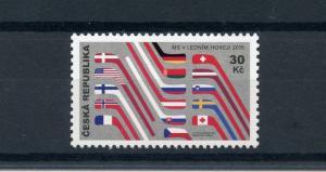 Czech Republic 2015 MNH IIHF Mens Ice Hockey World Championship 1v Set Stamps