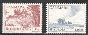 Denmark #600-601 Mint (NH), VF,  CV 3.80  ...   1671704