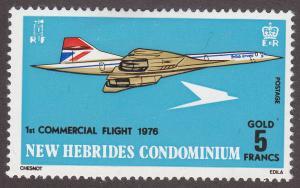 British New Hebrides 204 British Airways SST Concorde 1976