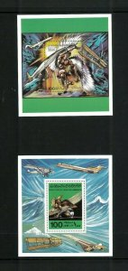 Wholesale Lot Aviation Libya #'s 774-75 Perforated SS. Cat.96.00 (16 x 6.00)
