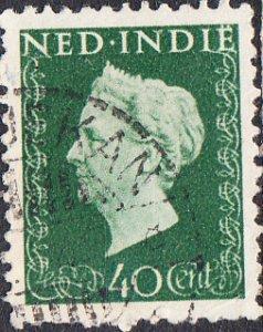 Netherlands Indies #284  Used