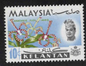 Malaysia Kelantan Scott 95a MNH** Flower stamp