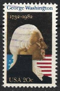 US ~ Scott # 1952 ~ Used ~ George Washington