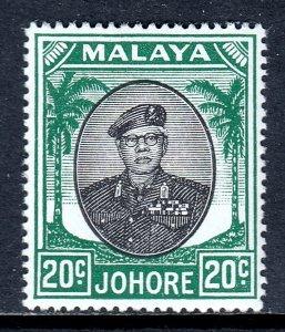 Malaya (Johore) - Scott #141 - MH - SCV $2.25