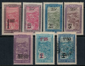 Madagascar #130,5-8, 42-3*/u  CV $4.25
