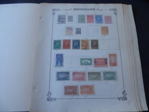 Dominican Republic 1879-1938 on Yvert Album Pages