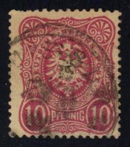 Germany #39 Imperial Eagle; Used (2Stars)
