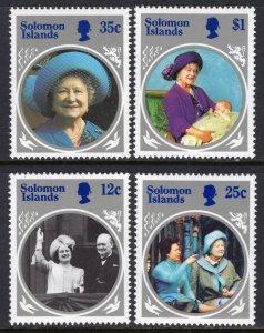 Solomon Islands 543-546 MNH VF
