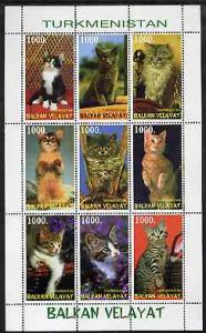 Turkmenistan (Balkan Velayat) 1999 ? Domestic Cats perf s...