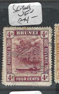 BRUNEI (P0205B)  RIVER SCENE  4 C  SG 39      VFU