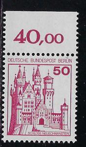 Germany Berlin Scott # 9N396, mint nh, variation plate print