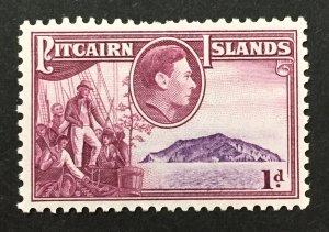 Pitcairn Islands 1940 #2, Unused/MH.