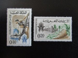 Morocco #89-90 Mint Never Hinged (L7H4) WDWPhilatelic