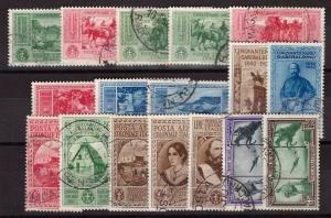 Italian Colonies, 1932 Garibaldi set used        -BH66