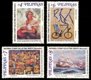 Philippines 1997 Scott #2498A-2498D Mint Never Hinged