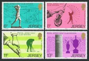 Jersey 183-186,MNH.Michel 173-176. Royal Jersey Golf Club,100,1978.Harry Vardon.