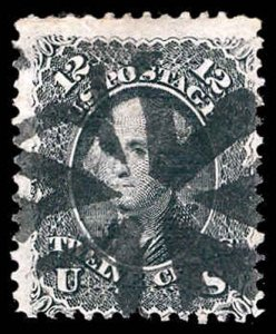U.S. 1867 GRILLED ISSUES 90  Used (ID # 78350)