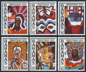 Bahamas MNH 458-63 Christmas 1979