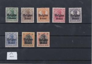 German Occupation Belgium MNH Stamps  Ref: R6595
