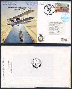 B11c Reformation of No.216 Squadron Signed by Capt Howie (O)