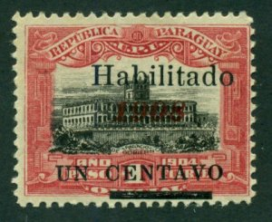 Paraguay 1908 #172 MH SCV (2018) = $0.50