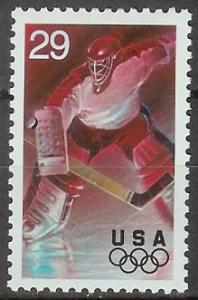 2811 Olympic Ice Hockey F-VF MNH single