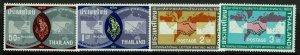 Thailand SC# 431-434, Mint Never Hinged, 433 & 434 few dry gum spots - S13283