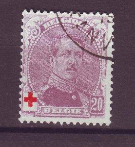 J25506 JLstamps 1914 belgium used #b27 king red cross