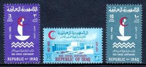 Iraq - Scott #336-338 - MH - SCV $2.25