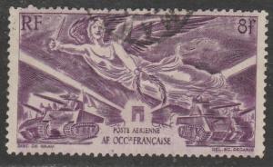 Afrique Occ. Fr (A.O.F)  1945  Scott No. C4  (O) Poste aérienne