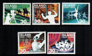 Iceland  782 - 786   MNH $ 5.00