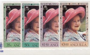 J26569  jlstamps 1980 Br colony anguilla set mnh #394-7 queen