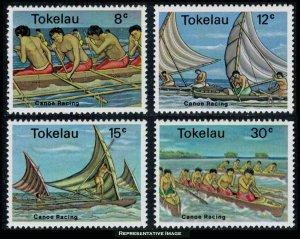 Tokelau Scott 65-68 Mint never hinged.