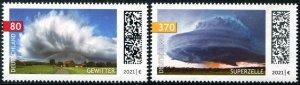 2021 Germany Thunderstorms (2) (Scott NA) MNH