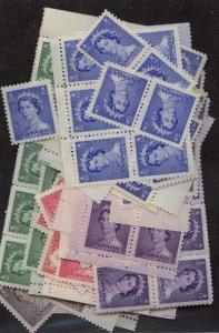 Canada - 1953 QE Karsh Set of 5 X 50 mint sets #325-329