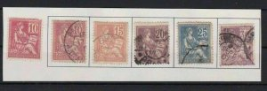 FRANCE 1902 MOUCHON TYPE REDRAWN CAT £100   STAMPS  R3087