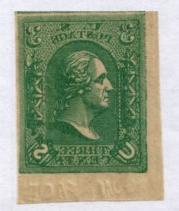 Scott #79-E8a - 3c Light Green - Loewenberg