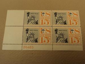USPS Scott C58 15c Liberty For All 1959 Statue of Liberty...