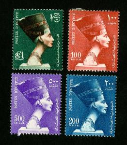 Egypt Stamps # 337-40 VF OG H Catalog Value $41.50