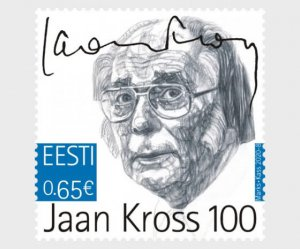 Estonia 2020 Jaan Kross MNH**