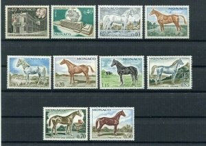 D123656 Monaco MNH Year 1970 38 values