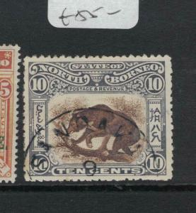 North Borneo SG 104 VFU (10dvq)