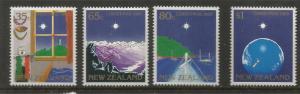 NEW ZEALAND  964-969  MNH   CHRISTMAS 1989