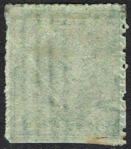 ANTIGUA 1863 QV 6D WMK STAR
