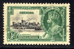 Grenada 1935 KGV 1/2d Silver Jubilee used SG 145 ( A860 )