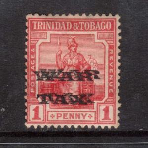 Trinidad & Tobago #MR11a Mint Double Overprint