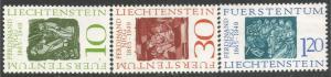 LIECHTENSTEIN 401-03 MNG Z323