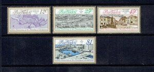BARBADOS - 1978 - FOUNDING OF BRIDGETOWN - SCOTT 470 TO 473 - MNH